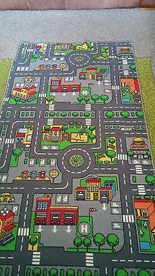fun and games race car map play mats childrens play rugs road map carpets kids fun games towns