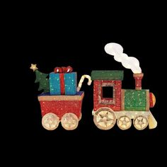Home Accents Holiday 48 in. LED Lighted Mesh String Train Set at The Home Depot - Mobile Christmas Light Show, Christmas Yard Art, Christmas Train, Christmas Holidays, Christmas Ideas, Led Outdoor Christmas Decorations, Decorating With Christmas Lights, Holiday Decor, Paper Decorations