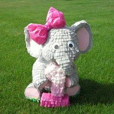 Elephant Party, Elephant Birthday, Elephant Theme, Grey Elephant, Baby First Birthday, 4th Birthday Parties, Themed Parties, Birthday Ideas, Peanut Baby Shower