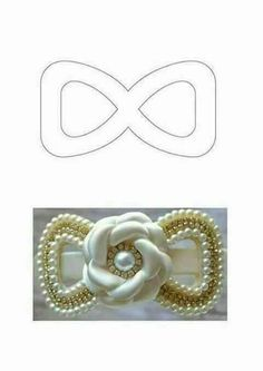 Flower girl Headband First Communion by LilMajestyBoutique - Salvabrani - Salvabrani Hair Bow Tutorial, Flower Tutorial, Making Hair Bows, Diy Hair Bows, Flower Girl Headbands, Baby Headbands, Diy Ribbon, Ribbon Bows, Homemade Bows