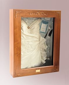 Display And Protect Your Cherished Wedding Dress, Antique Heirlooms,  Military Uniforms, And Keepsakes.so Want To Do This For My Mothers Wedding  Dress.