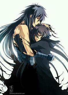 Ichigo and Tensa Zangetsu, best friends. <3 #Bleach