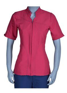 uniformes dickies para mujer - Buscar con Google Formal Tops, Nurse Love, Scrubs, Peplum, Shirt Dress, Zip, Womens Fashion, Casual, Mens Tops