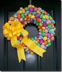 Easter Egg Wreaths at Southern Charmz Interiors. Your source for Easter egg wreaths, Easter wreaths, Easter door wreaths and egg wreaths Wreath Crafts, Diy Wreath, Diy Crafts, Wreath Ideas, Wreath Making, Door Wreaths, Grapevine Wreath, Spring Crafts, Holiday Crafts