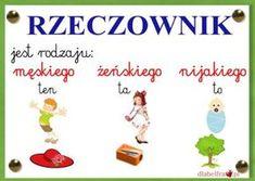 rzeczownik Polish Language, Education, School, Memes, Kids, Anna, Speech Language Therapy, Literatura, Preschool