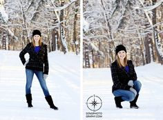 senior pic ideas in the snow  | senior ally snow session january 18th 2012 posted by admin in seniors ...