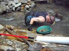 Picking gold off hard pan Pt. 2 of 3 Two GRAMS. Yankee Gold Prospecting Adventures. - YouTube