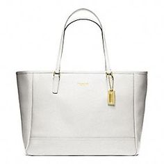 SAFFIANO MEDIUM CITY TOTE Normally I don t go for white purses but I fell decac8ae1d3f3