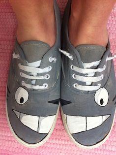 might have to rock these Totoro kicks haha: