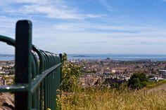 Edinburgh-Scotland from Calton Hill Park by Randy Dorman