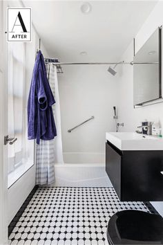 A Modern Renovation for a Dated Brooklyn Bathroom | Apartment Therapy
