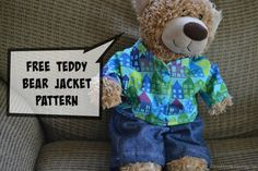Handmade Gifts for Boys day 4 – Teddy Bear Dress-up Clothes (and FREE pattern!)