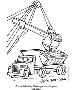 Truck Picture To Color These Free Printable Coloring Pages Are Fun For Kids