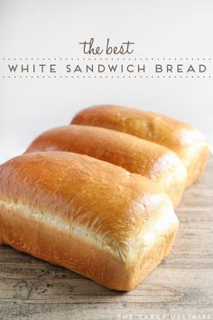 The best white sandwich bread - so light and tender, but sturdy enough to stand up to any sandwich filling. Delicious and easy to make too! #breadrecipessandwich