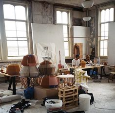 *beautiful art studios* ana-kras-nyc