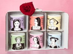 Six wives of Henry VIII mugs!!