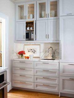 Kitchen Cabinets to Ceiling. Unique Kitchen Cabinets to Ceiling. Drawers In Kitchen Cabinets to Ceiling Kitchens Cabinets To Ceiling, Kitchen Cabinets Decor, Kitchen Cabinet Hardware, Cabinet Decor, Kitchen Redo, Cabinet Design, New Kitchen, Kitchen Remodel, Cabinet Storage
