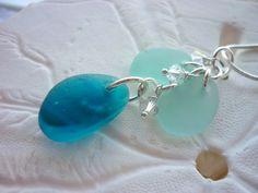Genuine Sea Glass Necklace