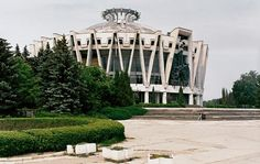 Celebrating soviet architecture / @Architectural Digest   AD goes inside Frédéric Chaubin's fascinating new book, Cosmic Communist Constructions Photographed   The Chisinau circus (1981) in Moldova, by Semyon Shoikhet and A. Kirichenko   #sovieticarquitectura