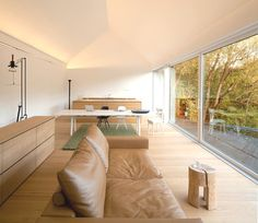 Intriguing Two-Volume Modern Residence in Germany: Studio House