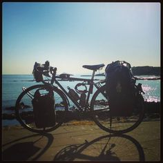 On the road again... #cycletherapy #LaMiaBambina #Sardegna17 #italiabellissima #senzabicinonsostare #bici #bike #velo #bicicletta #bicycle #pushbike #roadbike #bdc #cicloturismo #cycletourisme #bikelife #pedalaognigiorno #pedalaognitanto #usalabici #ciclismo #cycling #bikepacking #amore #love #passione #passion #primavera #spring #viaggi #travel