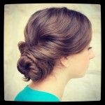 Easy Twisted Updo