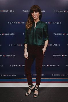 Model/Actress Lou Doillon at the store launch event Tommy Hilfiger Helsinki