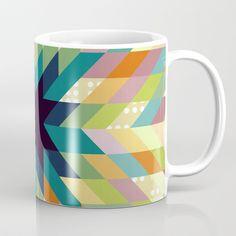 Winter Lights Coffee Mug by vessdsign | Society6