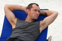 Jude Law...gosh how I want to braid his armpit hair!