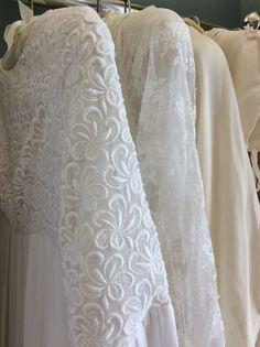 Lace vintage wedding dresses Elizabeth Avey boutique London x