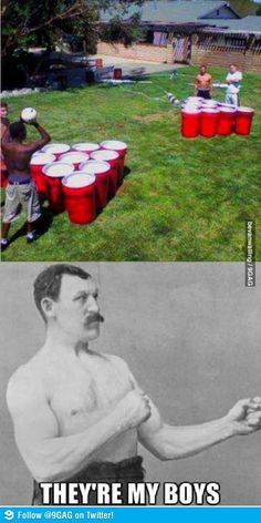 Next level beer pong, the things you find on pinterest