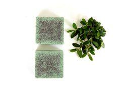 BERGAMOT AND BASIL Soap - Best Vegan Soap for Men Handmade Soap Bar Bergamot Soap Cruelty Free Soap Green Soap Bath and Body Gift Under 10