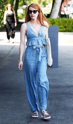 6 Brands That Emma Roberts Loves to Shop via @WhoWhatWear