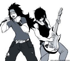 Gajeel & Rogue