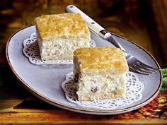 Szellem a fazékban: Túrós pite Dairy, Cheese, Desserts, Food, Tailgate Desserts, Deserts, Essen, Postres, Meals