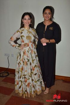Tamannaah & Anushka Shetty at Baahubali Movie Audio Launch and Press Meet