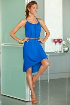 Belted day dress from Boston Proper on Catalog Spree, my personal digital mall.