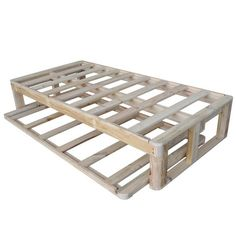 Timber Bed Frames - For manufacturers of beds. Timber Bed Frames, Pallet Bed Frames, Timber Beds, Pallet Beds, Pallet Furniture, Kids Furniture, Trundle Bed Frame, Daybed With Trundle, Simple Bed Frame
