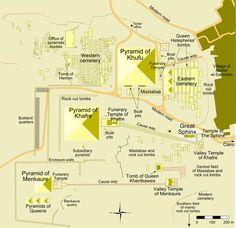 gizeh pyramide | Pyramid of Giza Map,Khufu Pyramid Photos, How to get get Pyramid of ...