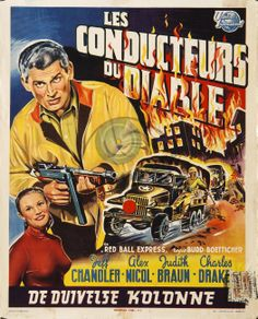 1952 movie posters & stills | MOV00384 - Les Conducteurs du Diable