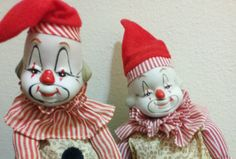 Clown Music Boxes by ItsJustStuFFFF on Etsy