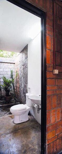 Toilets minimalist design