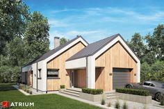 Projekty domów - Projekt domu parterowego PELIKAN SLIM IV - wizualizacja 1