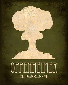 Robert Oppenheimer - Steampunk Rock Star Scientist Poster | Flickr - Photo Sharing!