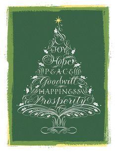 Flourished Christmas Tree