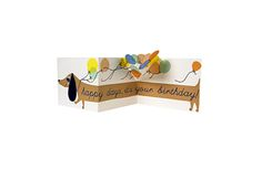 #sausagedog #dachshund #dog #birthday #happybirthday #cute #merimeri #party #gift #card #present #saltaire #radstudio  Adorable Meri Meri sausage dog birthday card to make someone's day extra special. Everyone one loves a sausage dog!