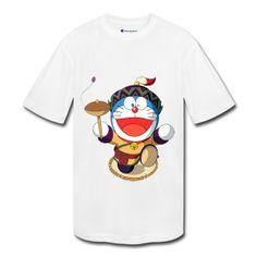 Custom Happy Gambar Doraemon Youth T-shirts For Sale Anime T-shirts -Hicustom.com