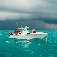 Deep sea fishing, Bahamas.