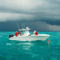 Deep sea fishing, Bahamas.