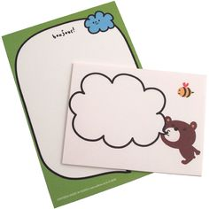 Artbox Letter Set: Bonjour Bear £1.20